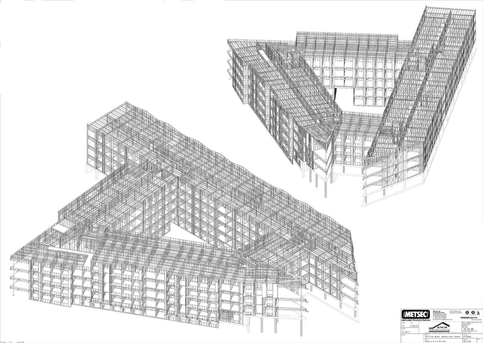 Printworks 3D drawing
